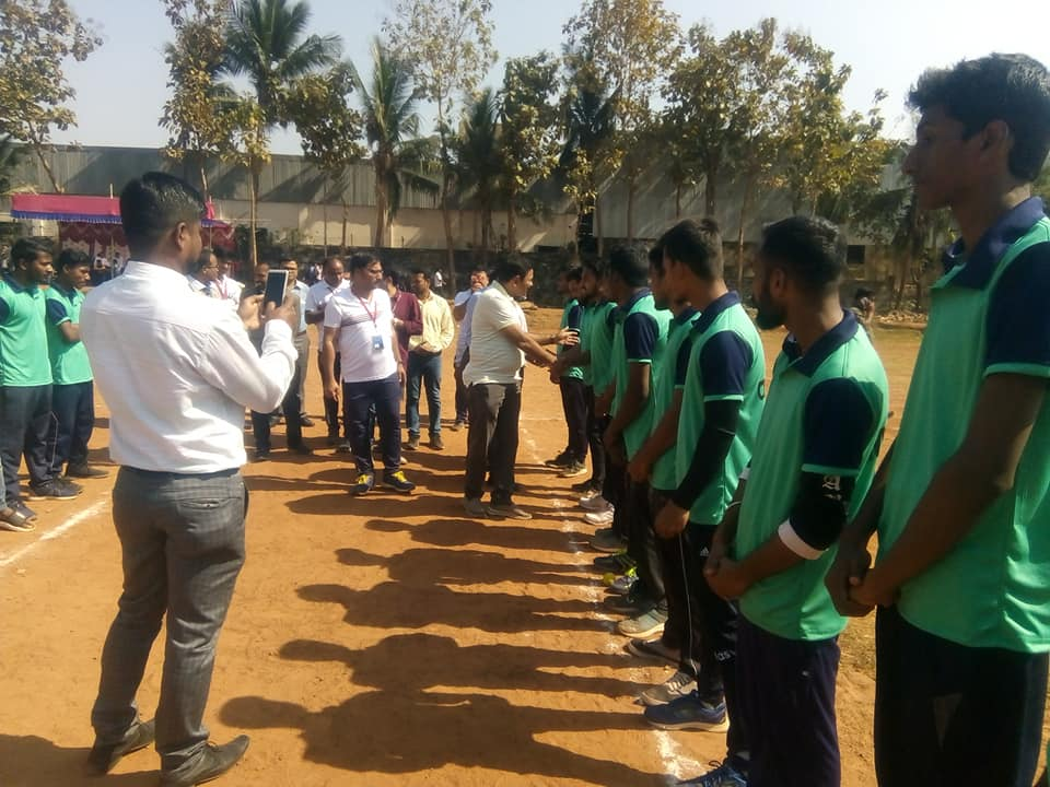 KGI Intra - Sports Tournament 2020 inaugurated today by Honorable Chairman, KGI, Er. Prabhat Ranjan Mallick.