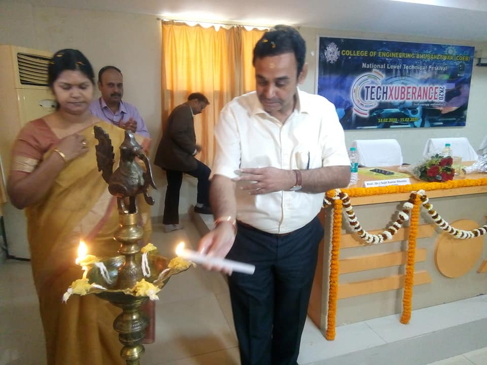 National Level Technical Festival Techxuberance 2K20 conducted at Koustuv Technical Campus